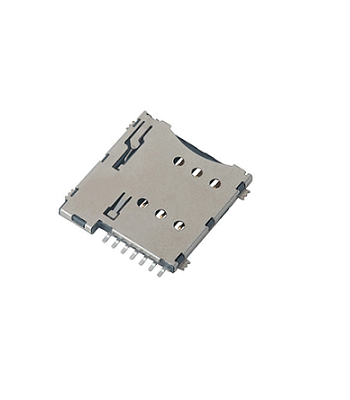 6Pin-Metal-Micro-Sim-Holder-Push-Type-GSM-SIM-Tray-Positron
