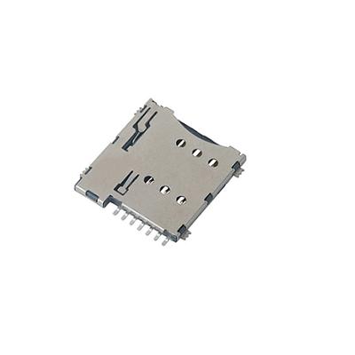 6Pin-Metal-Micro-Sim-Holder-Push-Type-GSM-SIM-Tray-Positron