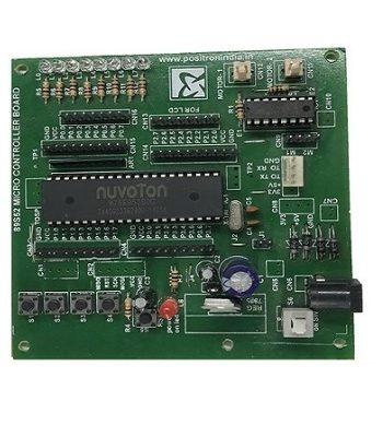 8051-Trainer-Board-With-L293D-Motor-Driver-Controller-Development-Board-Positron