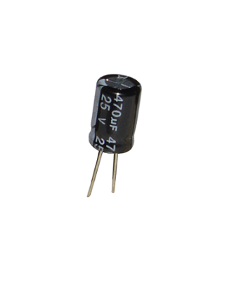 470uf-25V-Electrolytic-Capacitor-SemiConductor-Components-Positron